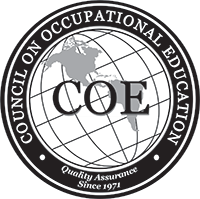 Council on Occupational Education logo